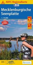 Fietskaart Mecklenburgische Seenplatte  | ADFC - BVA regionalkarte | 1:75.000 | ISBN 9783870739539