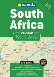 Wegenatlas South Africa - Zuid-Afrika 2019  | 1:1,25 miljoen | Map Studio | ISBN 9781776170234