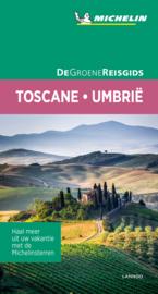 Reisgids Toscane-Umbrië-Marche | Michelin groene gids | ISBN 9789401465267