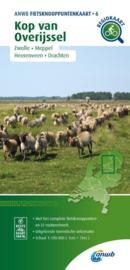 Fietskaart Kop van Overijssel | ANWB 07 | 1:100.000 | ISBN 9789018046798