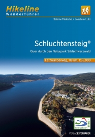 Wandelgids - Trekkinggids Schluchtensteig Fernwanderweg | Hikeline | ISBN 9783850007795