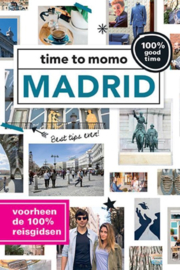 Stadsgids Madrid - Time to MoMo | Momedia | ISBN 9789057678776