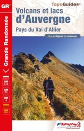 Wandelgids Volcans et lacs d'Auvergne | FFRP | ISBN 9782751410109