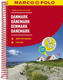 Wegenatlas Denemarken | Marco Polo - Mair | 1:200.000 | ISBN 9783829736824