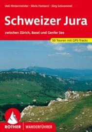 Wandelgids Schweizer Jura | Rother Verlag | tussen Zürich, Basel en Geneve | ISBN 9783763341573