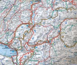 Fietskaart Zwitserland - Schweiz | Kümmerly & Frey | 1:300.000 | ISBN 9783259024003