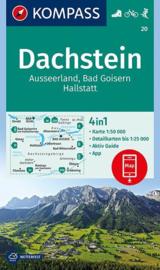 Wandelkaart Dachstein - Ausseerland | Kompass 20 | 1:50.000 | ISBN 9783990444153