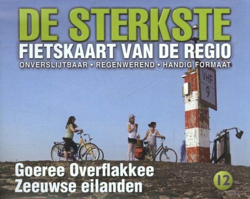 Fietskaart De sterkste fietskaart van de regio : Goeree-Overflakkee en de Zeeuwse Eilanden  | Buijten & Schipperheijn | 1:50.000 | ISBN 9789058817150