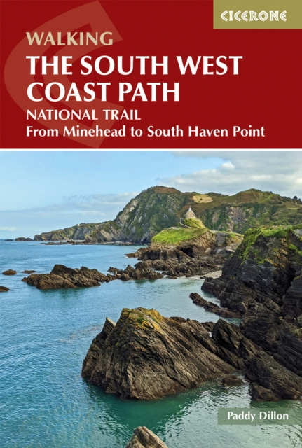 Wandelgids South West Coast path - From Minehead to South Haven Point | Cicerone | ISBN 9781786310682