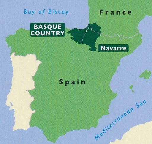 Reisgids Baskenland en Navarra : The Basque Country and Navarre  | Bradt | ISBN 9781784776244