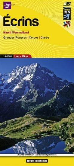 Wandelkaart Ecrins   1:60.000   Editions Libris 05   ISBN 9782723476690