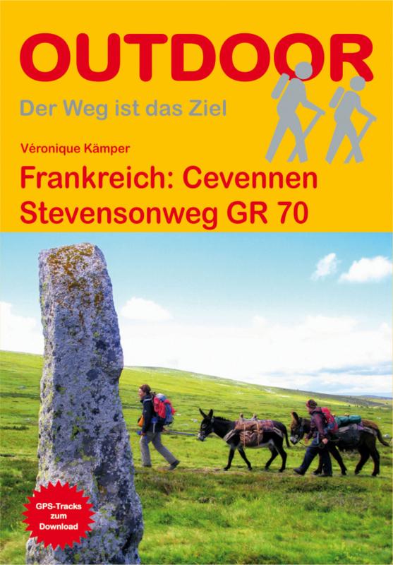Wandelgids Cevennen - Stevensonweg GR 70   Conrad Stein Verlag   ISBN 9783866865556