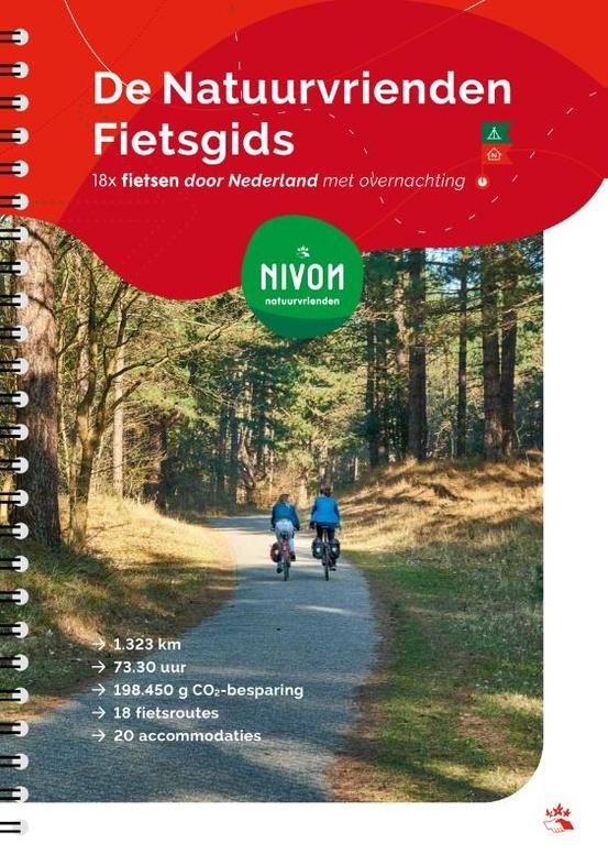 Fietsgids De Natuurvrienden Fietsgids | Vrije uitgevers | ISBN 9789491142154
