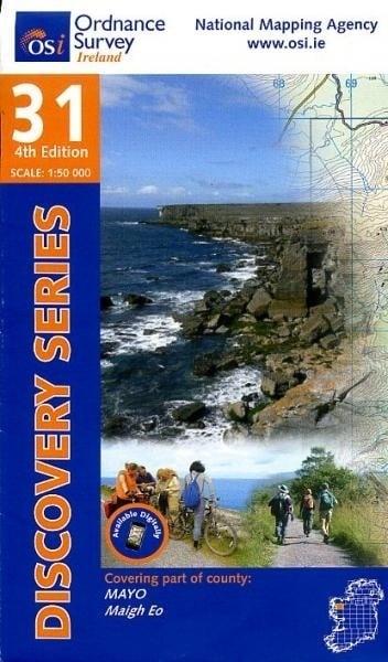 Wandelkaart Ordnance Survey / Discovery series | Mayo 31 | ISBN 9781908852502