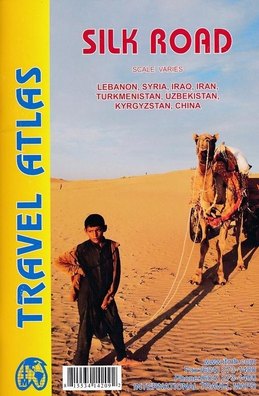 Wegenatlas Silk Road - Zijderoute | ITMB | ISBN 9781553414209