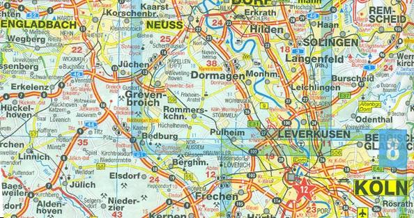 Wegenkaart Duitsland Noord   Marco Polo   1:500.000   ISBN 9783829738187