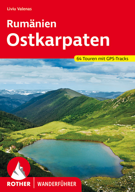 Wandelgids Roemenië - Oost (Karpaten) | Rother Verlag | ISBN 9783763345472