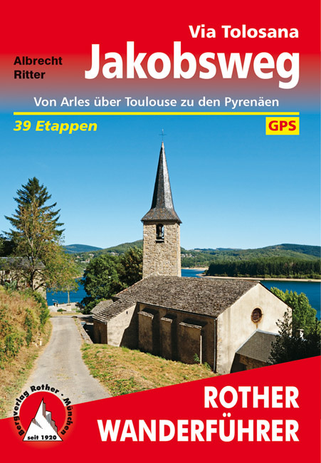 Wandelgids Via Tolosana | Rother | ISBN 9783763345083