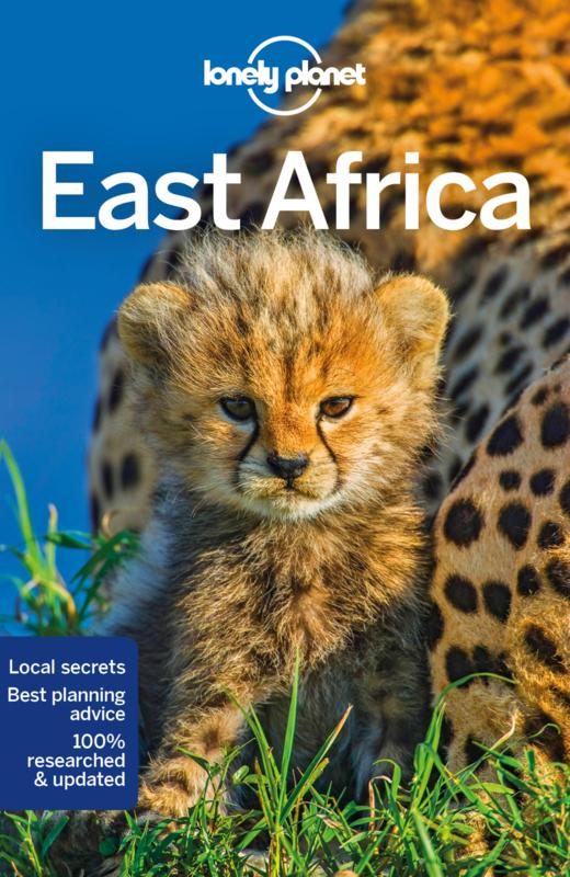 Reisgids East Africa   Lonely Planet   Uganda, Kenia, Tanzania, Rwanda, Burundi, Rep. Congo   ISBN 9781786575746