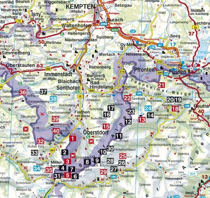 Klettersteiggids Allgäuer Alpen - Höhenwege und Klettersteige | Rother Verlag | ISBN 9783763331208