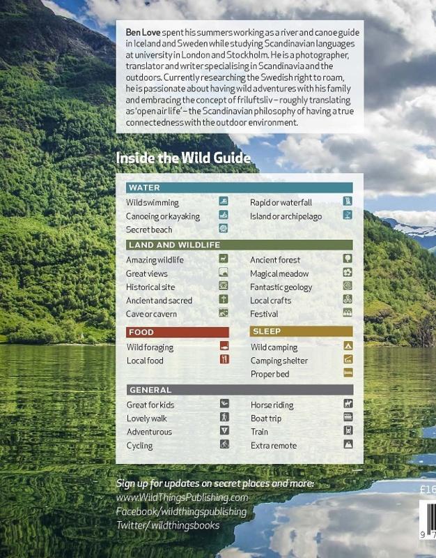 Reisgids Wild Guide Scandinavia | Wild Things | ISBN 9781910636053