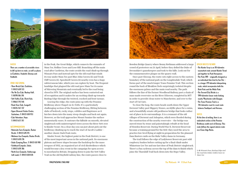 Fietsgids Bikepacking England   Vertebrate Publishing   ISBN 9781839810558