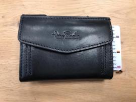 Pasjeshouder Tony Perotti RFID zwart model 3 plus munt en papiergeld