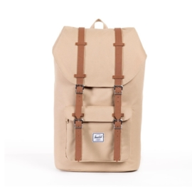 Little America Khaki/Tan Synthetic Leather