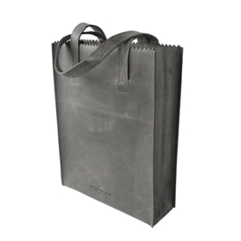 My Paper Bag Long Handle Zip Off Black