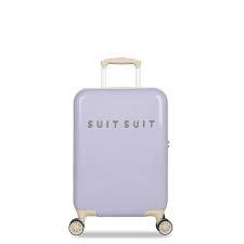 Fabulous Fifties handbagage Paisley Purple