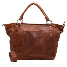 Cowboysbag - Bag Bourne Cognac ( Luiertas )
