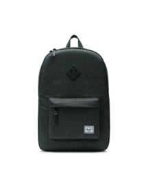 The Herschel Heritage - Black Crosshatch/Black Rubber