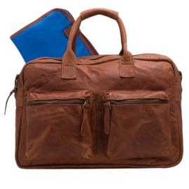 Cowboysbag - The Diaperbag Cognac ( Luiertas )