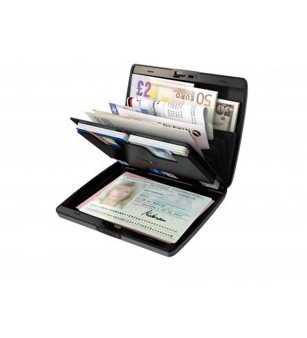 Tru Virtu wallet papers&cards zwart