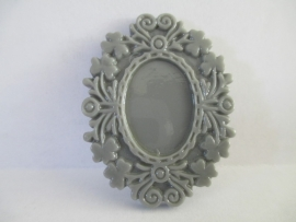 Acryl Spiegelframe grijs