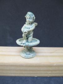 Fontijn engel, 5 cm hoog