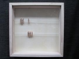 3D lijst, 23x 23 cm, 3,5 cm diep