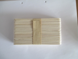 Houten spatels, 50 stuks