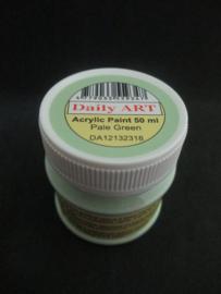Acryl verf pastel groen, 50 ml