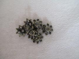 B14479 Brons kleurige kapjes 8 x 3 mm.