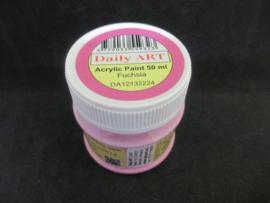 Acryl verf Fuchsia, 50 ml.