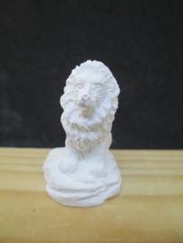 Beeld leeuw, 3,5 cm hoog