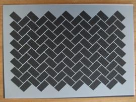Sjabloon parallelogramm, A4