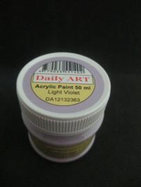Acryl verf pastel violet, 50 ml.