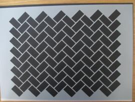 Sjabloon parallelogramm, A5