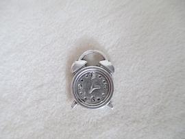 B25666 Wekker zilver kleurig