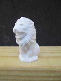 Beeld leeuw, 4 cm hoog