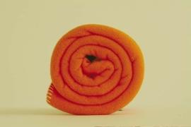 Outlet ledikantdeken 120x150 Polartec® fleece deken oranje