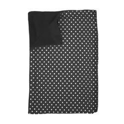 Dynamic Comfort Plaid Stip zwart wieg/ledikant