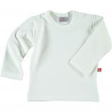 Baby sweat shirt met lange mouw wit